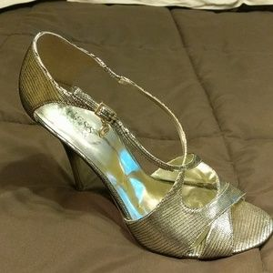 Guess by Marciano Gold heels